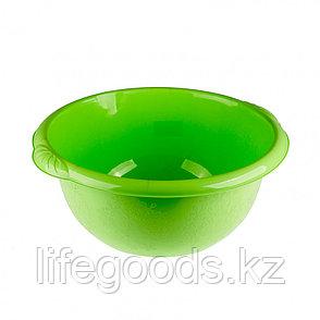 Таз пластмассовый круглый 16 л, зеленый, Россия Elfe 92983, фото 2