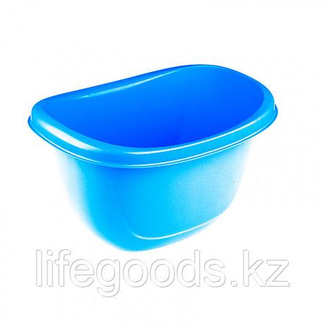 Таз пластмассовый овальный 16 л, голубой, Россия Elfe 92988, фото 2