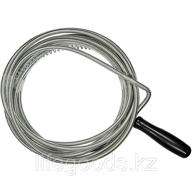 Трос для прочистки труб, L-5 м, D 6 мм Сибртех 92462