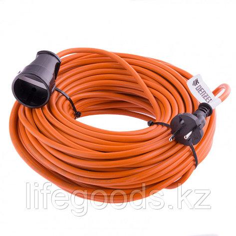 Удлинитель-шнур силовой, 15 м, 1 розетка, 10 A, серия УХ10 Denzel 95911, фото 2