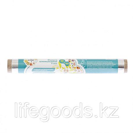 Фольга алюминиевая 9 мкм, 280 мм х 5 м, Россия Elfe 95010, фото 2