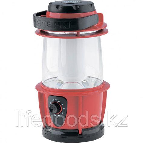 Фонарик кемпинговый, светодиодный, с регулятором яркости, пластиковый корпус, 12 Led, 3хАА Stern 90540, фото 2
