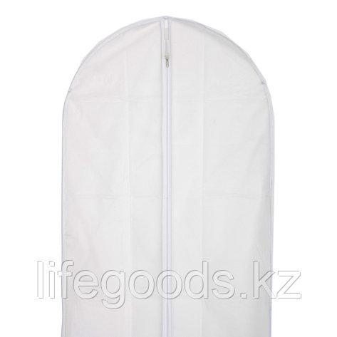 Чехол для хранения одежды на молнии, PEVA, 60 х 90 см Elfe 93113, фото 2