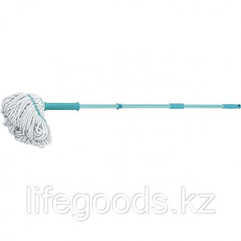 Швабра отжимная скручиванием 120 см, насадка из микрофибры, 120 гр Elfe 93509, фото 2
