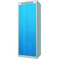 Шкаф металлический гардеробный ШМГ- 320, двустворчатая дверь, отсек для головного убора. 97419