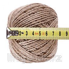 Шпагат джутовый, L 90 м, четырехниточный, 1120 текс, 19, 2 кгс Россия Сибртех 93877, фото 3