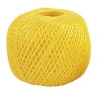 Шпагат полипропиленовый, желтый 110 м,  1200 текс Россия Сибртех 93978