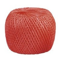 Шпагат полипропиленовый, красный 500 м, 800 текс Россия Сибртех 93996, фото 2