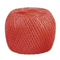 Шпагат полипропиленовый, красный 60 м, 1200 текс Россия Сибртех 93975