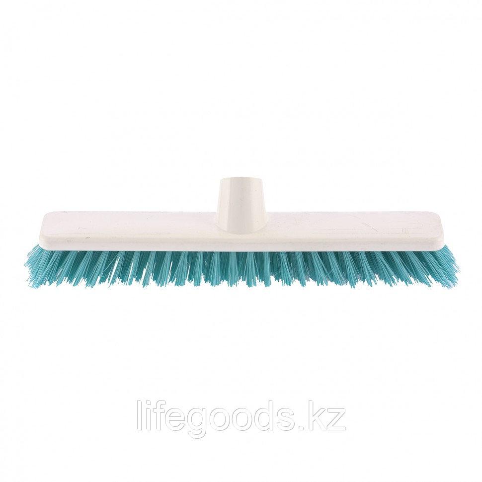 """Щетка пластмассовая """"Shrober"""" для чистки ковров 270 мм, бирюзовая щетина Elfe 93547"""