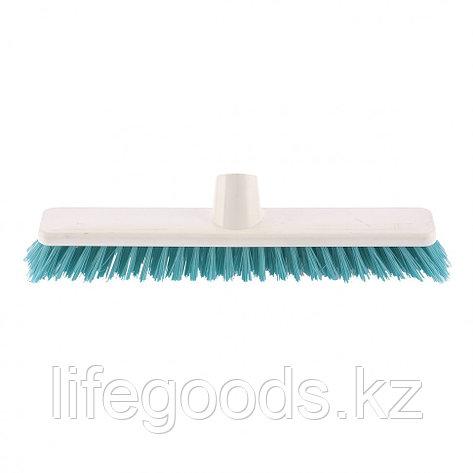 """Щетка пластмассовая """"Shrober"""" для чистки ковров 270 мм, бирюзовая щетина Elfe 93547, фото 2"""