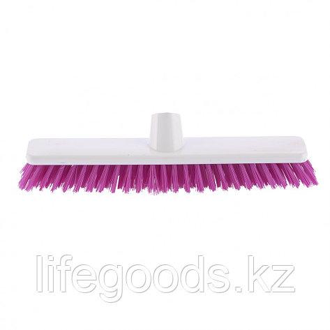 """Щетка пластмассовая """"Shrober"""" для чистки ковров 270 мм, розовая щетина Elfe 93549, фото 2"""