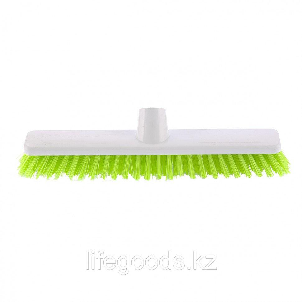 """Щетка пластмассовая """"Shrober""""для чистки ковров 270 мм, салатовая щетина Elfe 93548"""