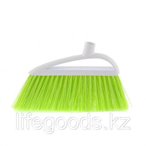 """Щетка пластмассовая для подметания пола """"Lux """", 230 мм, без черенка, салатовая щетина Elfe 93557, фото 2"""