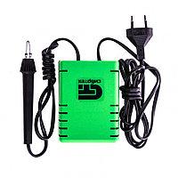 """Электроприбор для выжигания по дереву """"Ажур"""" с подставкой, 2 проекции в комплекте Сибртех"""