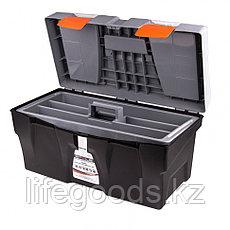 """Ящик для инструмента 24"""", 590 х 300 х 300 мм, пластик Россия Stels 90706, фото 2"""