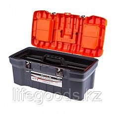 "Ящик для инструмента с металлическими замками 22"", 28 х 23 см, 5 х 56 см Россия Stels 90713, фото 2"
