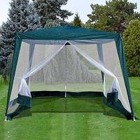 Беседка-шатёр садовая с антимоскитной сеткой «Комфорт» [3х3х2.4 м], фото 1