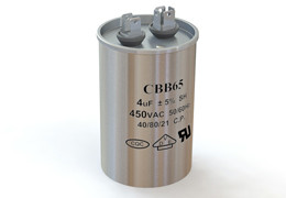Конденсатор пусковой рабочий 4mF 450v CBB65