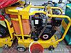 Швонарезчик с дизельным двигателем lifan и бачком для воды, фото 4