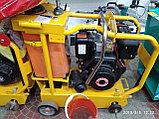 Швонарезчик с бензиновым двигателем lifan и бачком для воды, фото 4