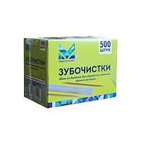 Зубочистки 65 мм., бамбук в инд. ПП уп.500 шт/упак, 500 шт