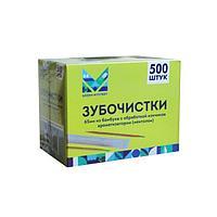 Зубочистки 65 мм., бамбук с ментолом в инд. ПП. уп.500 шт/упак, 500 шт