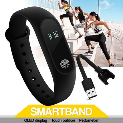 Фитнес браслет с измерением сердцебиения SMART BAND, фото 2