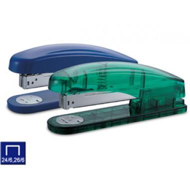 Степлер №10, 1-15л, пластик, прозрачный корпус KW-trio