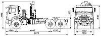 (КАМАЗ 43118 седельный тягач с КМУ PALFINGER INMAN IM150N
