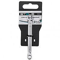 Ключ комбинированный, 6 мм, CrV, антислип Stels 15243