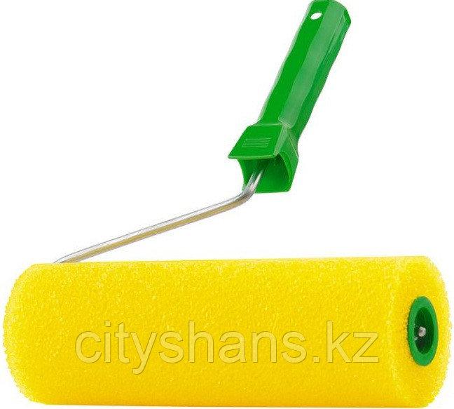 ВАЛИК СТРУКТУРНЫЙ желтый поролон 240мм
