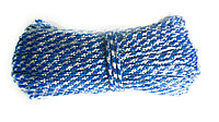 Веревка полипропиленовая Д-4 (цветная) 4мм*20м