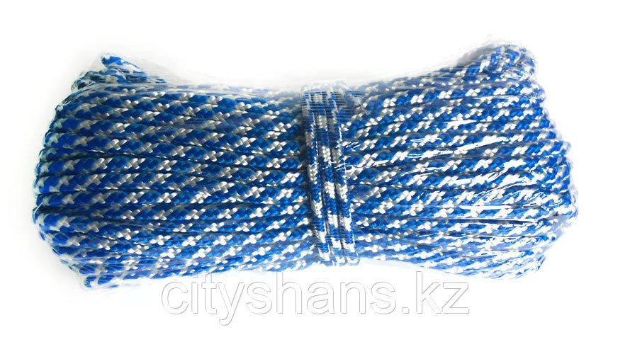 Веревка полипропиленовая Д-8 (цветная) 8мм*25м