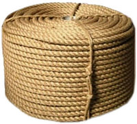 Веревка-джутовая Д-6 6мм * 25м