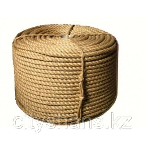 Веревка-джутовая Д-10 10мм*25м