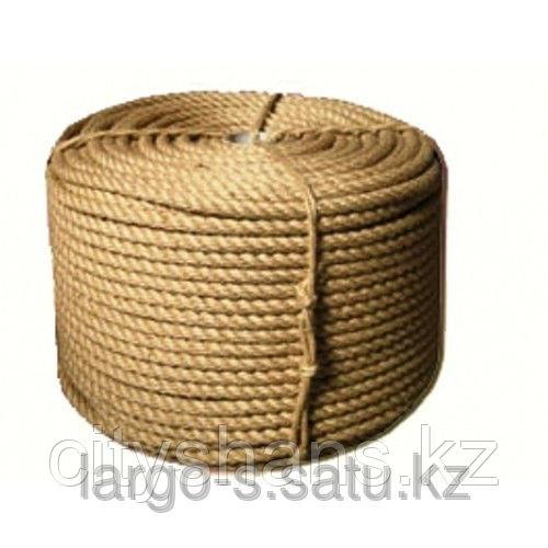 Веревка-джутовая Д-16 16мм*100м