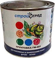 ГРУНТ ГФ-021 серый 2,7 кг СТРОЙОТРЯД