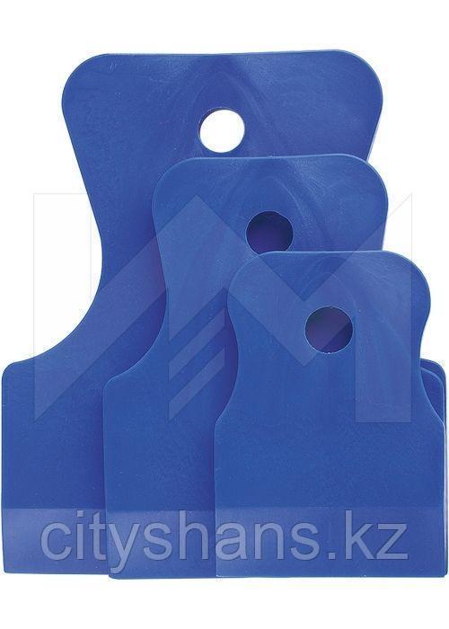 ШПАТЕЛЬ резиновый синий (3шт.)