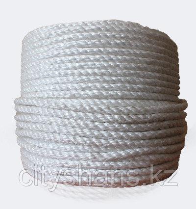 КАНАТ полипропиленовый Д-16 (белый) 16мм*100м