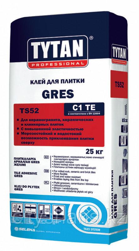 КЛЕЙ ПЛИТОЧНЫЙ Tytan GRES 25 кг.