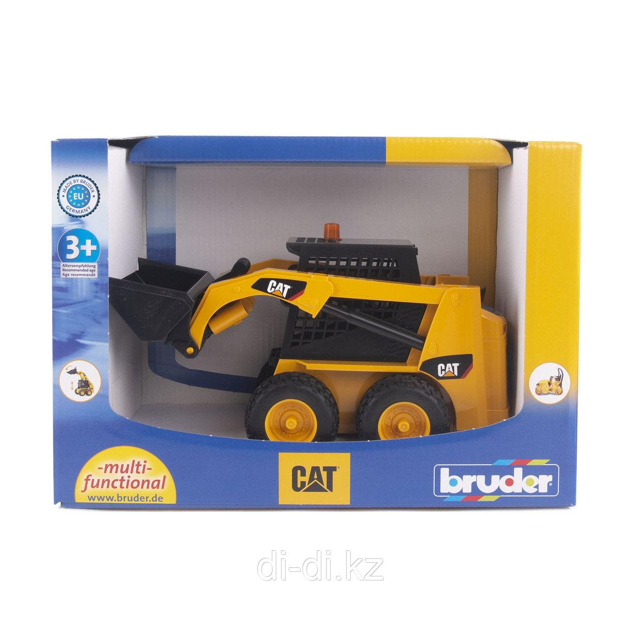 Погрузчик Bruder с бортовым поворотом Cat