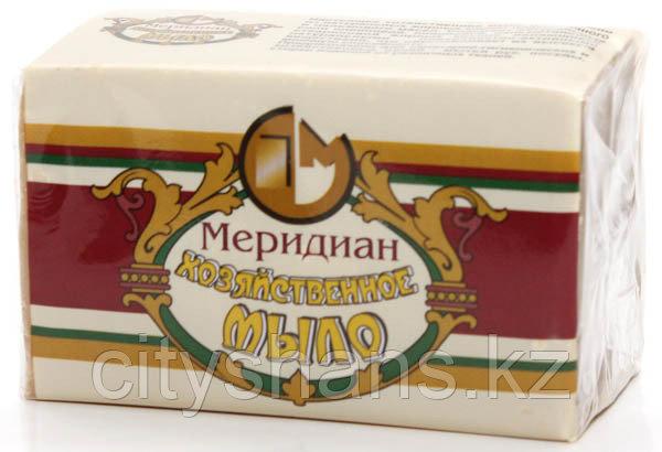 """МЫЛО ХОЗЯЙСТВЕННОЕ """"Меридиан""""(в обертке)72% 200гр."""