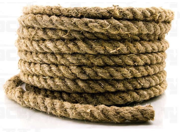 Веревка-пеньковая Д-12 12мм*100м