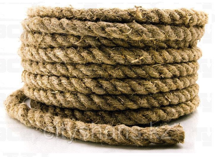 Веревка-пеньковая Д-14 14мм*25м