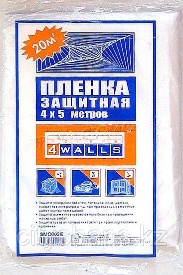 ПЛЕНКА полиэтиленовая защитная 4*5м
