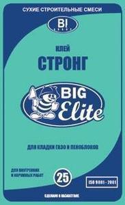 КЛЕЙ ГАЗОБЛОЧНЫЙ Big elit 25 кг.