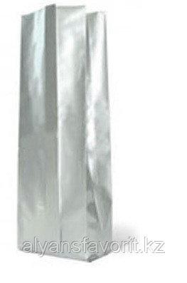 Пакет дой пак фольгированный ( с алюминием )  с центральным швом (двухшовный)