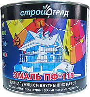 ЭМАЛЬ ПФ-115 черная 0,9 кг