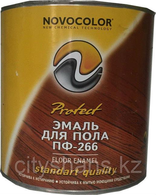 ЭМАЛЬ ПФ-266 желто-коричневая 0,8 кг